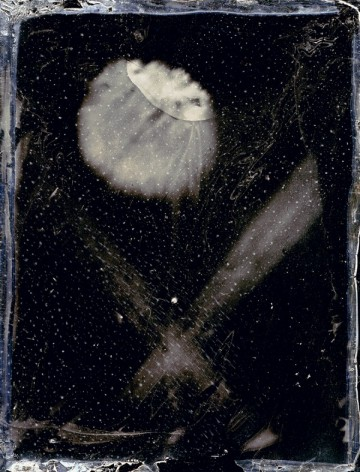 Inframince(앵프라맹스)_ Inkjet Print from 4x5 inch Collodion Wet-Plate negative_ 124.5x95cm.2014