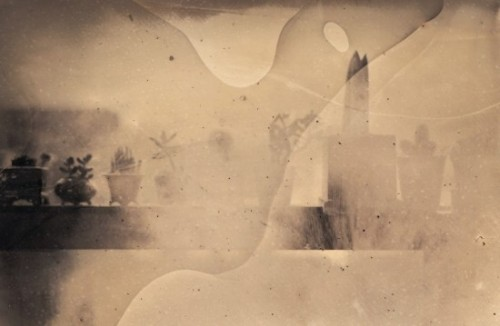 Inframince(앵프라맹스)_  Inkjet Print_ from  4x5inch  Collodion Wet-Plate  Negative_  41,5x63,5cm. 2014