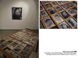 14_습식(Portrait)_2011_Ambrotype_150x72cm(65 Pieces)