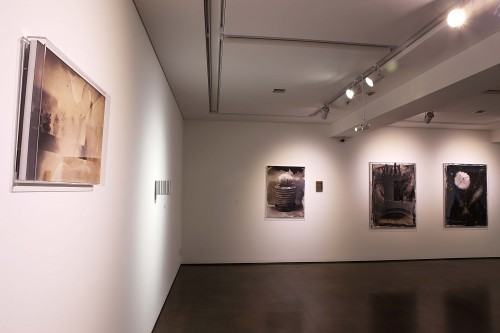 Inframince(앵프라맹스)_ Inkjet Print_ from 4x5inch Collodion Wet-Plate Negative_ 41,5x63,5cm, Installation View, OCI Museum, 2015
